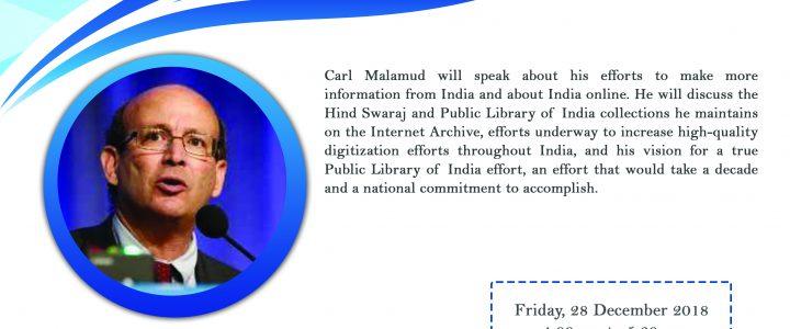 "Seminar ""A Public Library of India"" 28 December 2018"