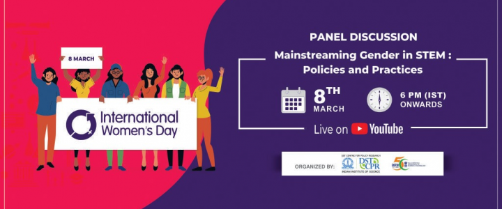 International Women's Day: Mainstreaming Gender in STEM: Policies and Practices